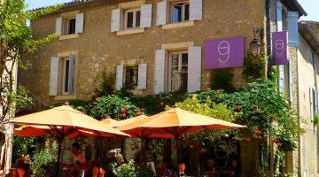 Numero 9, a restaurant in Lourmarin, Luberon, Vaucluse, Provence