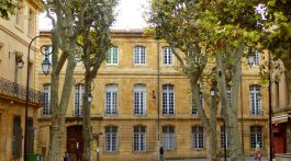 Aix-en-Provence, one of the a cities of Provence, France