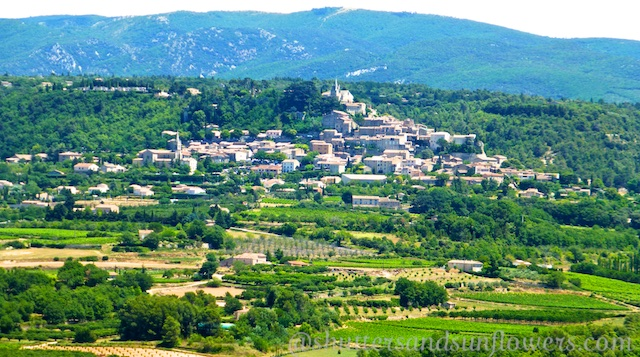 Landscape of the Luberon,Provence