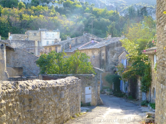 Oppede-le-Vieux, Luberon Valley, Vaucluse, Provence, France