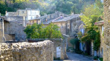 Oppède-le-Vieux, The Luberon, Provence, France