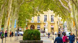 Cours Mirabeau, Aix-en-Provence, Provence, France
