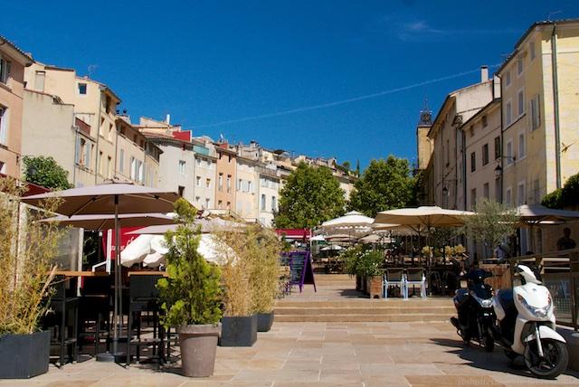 Aix-en-Provence Place de Cardeurs the Var, Provence, France