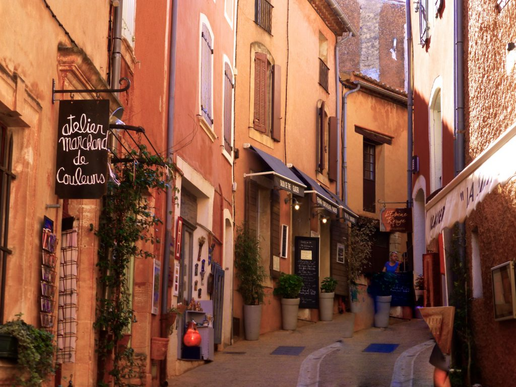 Roussillon, in the Luberon, Vaucluse, Provence, France