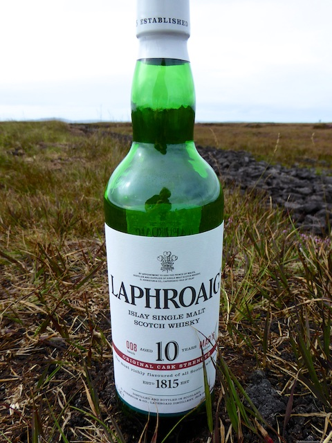 Laphroaig single malt whisky, Islay, Scotland