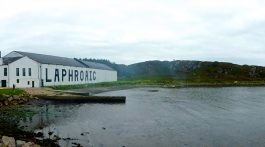 The Laphroaig Distillery, Islay, Scotland