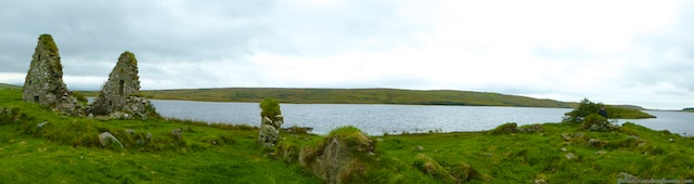 View of Finlaggan, Islay, Scotland