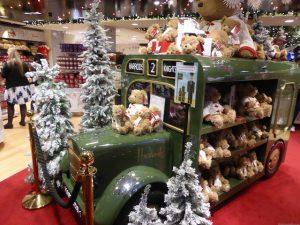 Harrods Christmas shop, London, England
