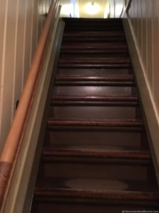 Stairs in the Anne Frank House, Amsterdam
