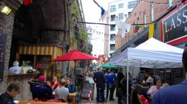 The Maltby Street Market, Bermondsey, London, England