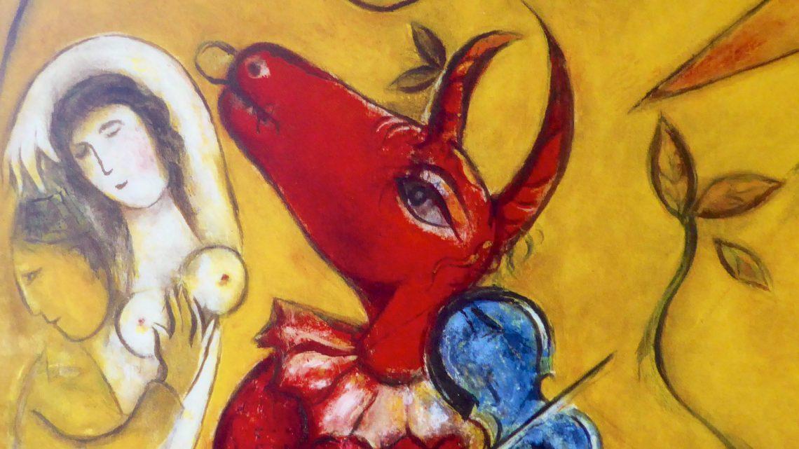 Marc Chagall at Carrières de Lumières 2016