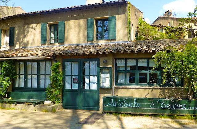 Travel PDF Guide Lourmarin restaurant, Le Louche au Beurre, Luberon, Provence