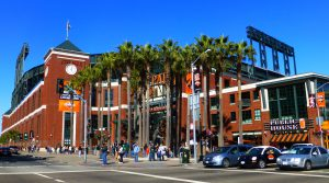 AT&T Park - home of the Giants - San Francisco