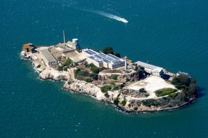 Above Alcatraz, San Francisco, California
