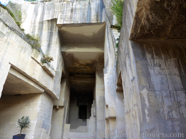 Bauxite quarries of Carrieres Lumiere