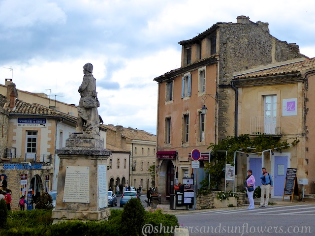 War Memorial in Gordes, The Luberon, Provence, France