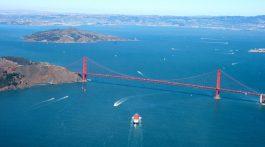 Entrance to the Golden Gate San Francisco