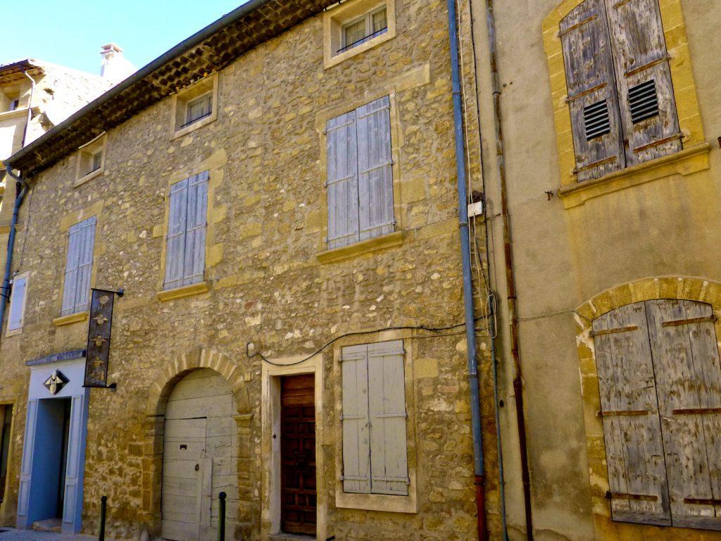 Architecture in Lourmarin, Luberon, Provence