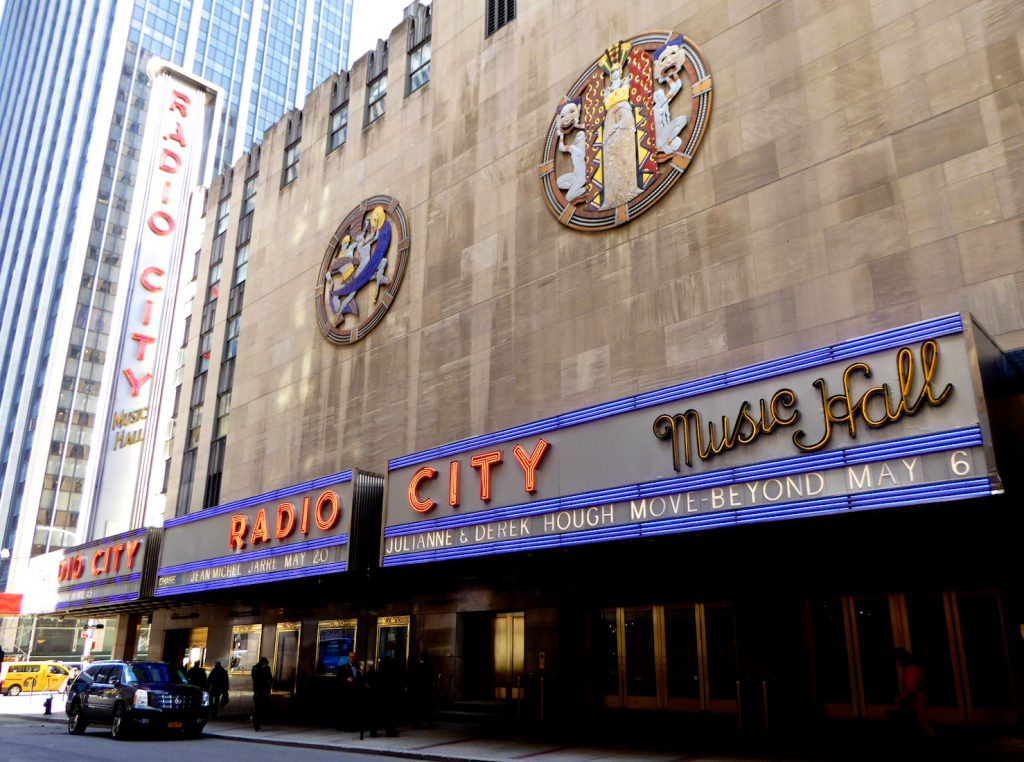 Radio City Hall, Manhattan, New York, New York