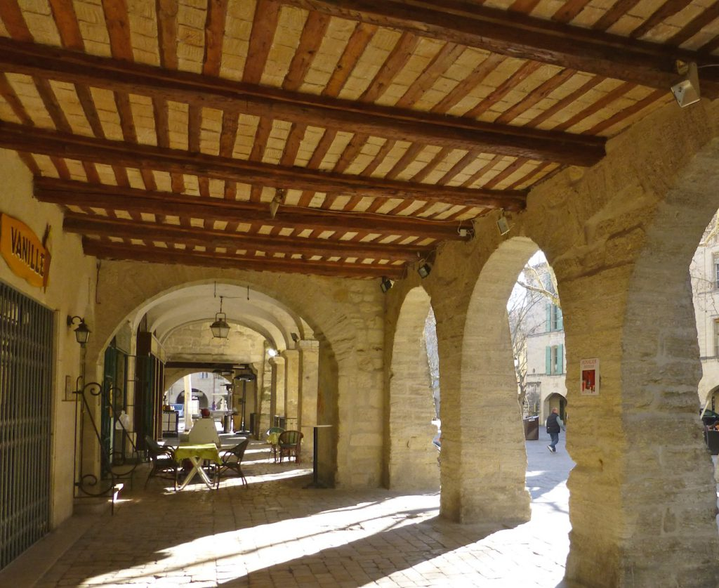 Serendipity - Arches of Place aux Herbes in Uzes
