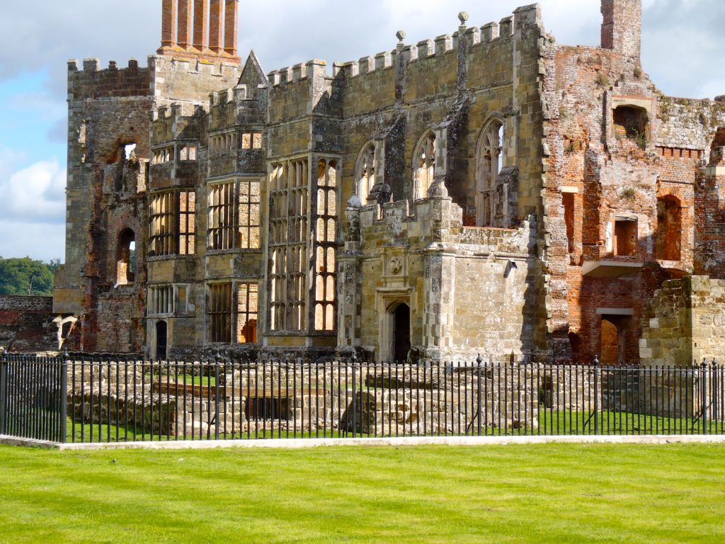 Ruins of Cowdray House, Midhurst, Sussex, England