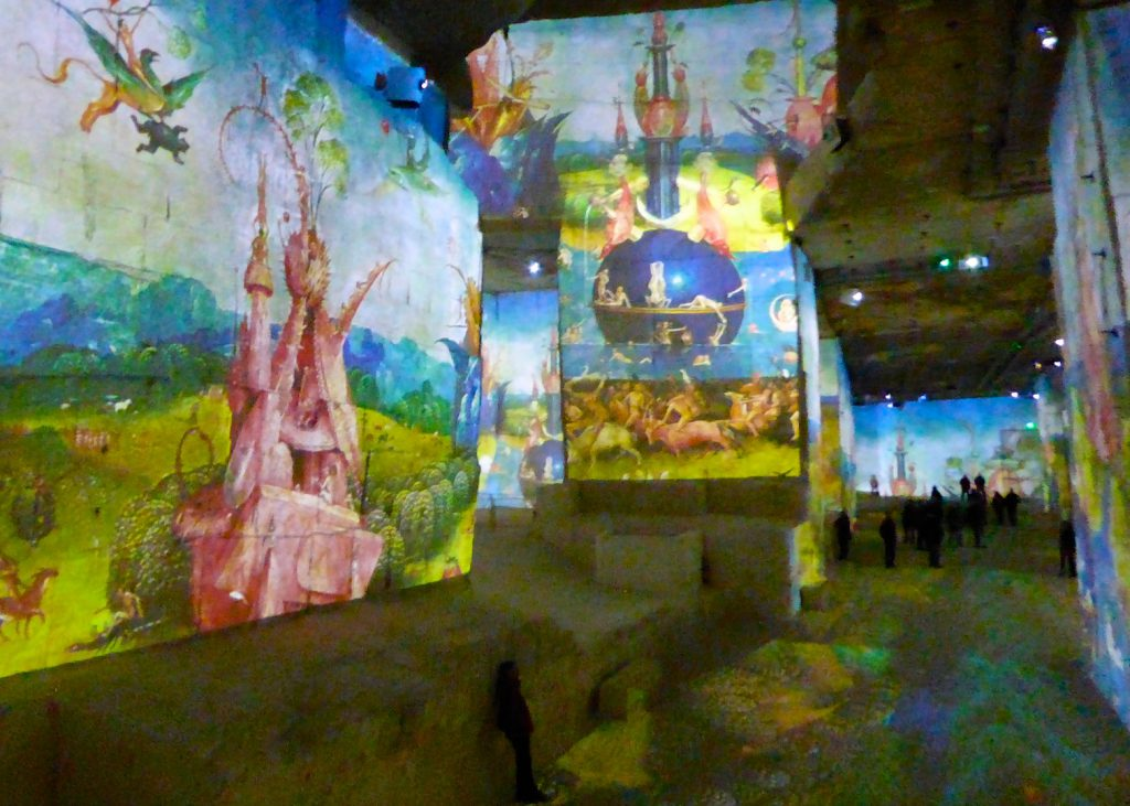 Carrières de Lumières 2017 Bosch, Brueghel, Arcimboldo, Les Baux de Provence,Provence, France