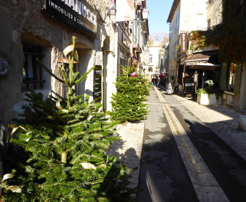 Streets of St Remy de Provence, Bouche du Rhone, Provence, France