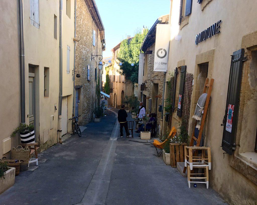 rue de Grand Pre in Lourmarin