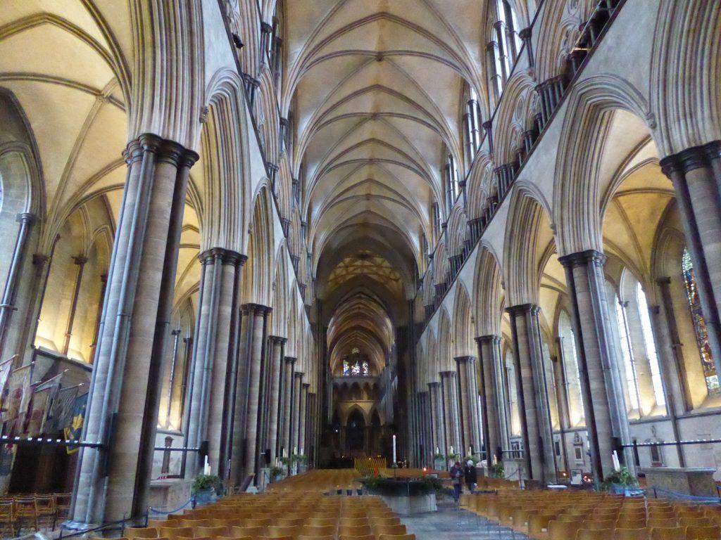 Salisbury Cathedral, the santuary, Salisbury, Wiltshire, England