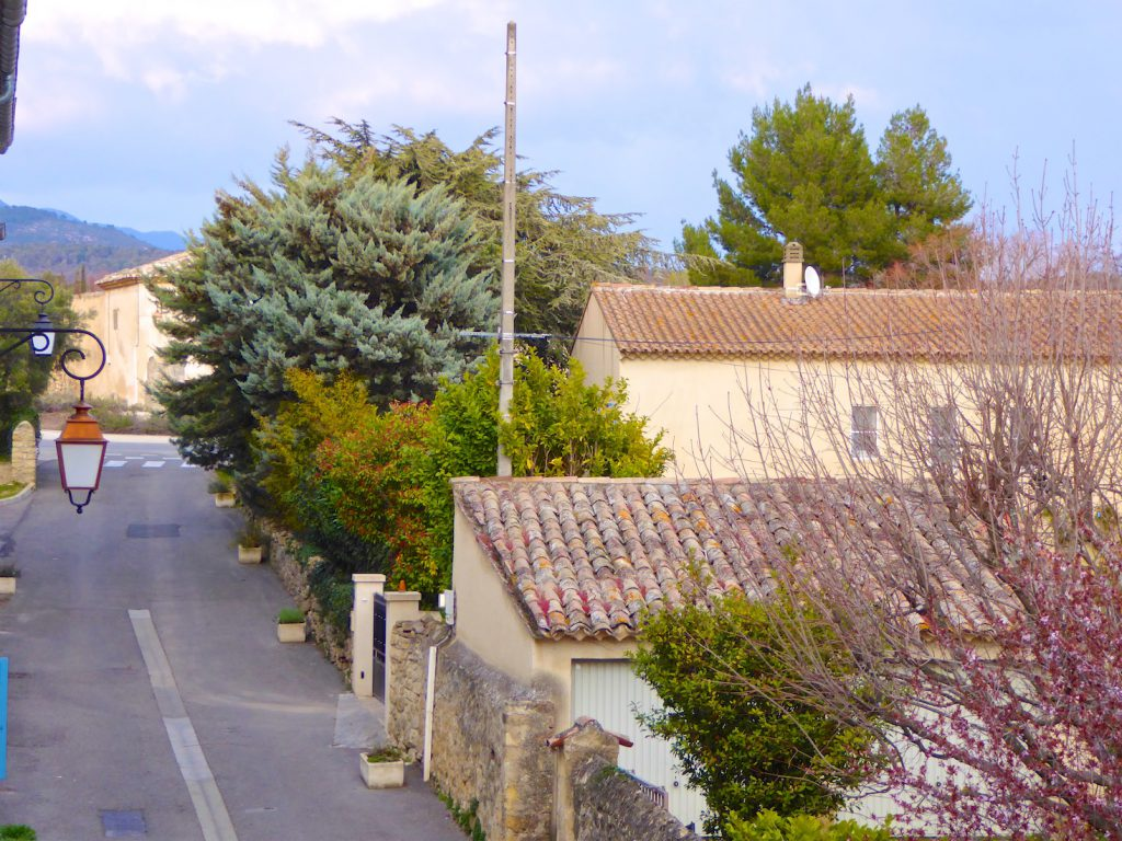 Rue du Grand Pre Lourmarin, Luberon, Vaucluse, Provence, France