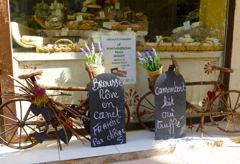 Fromagerie in Saint-Rémy-de-Provence, Bouches-du-Rhône, Provence, France