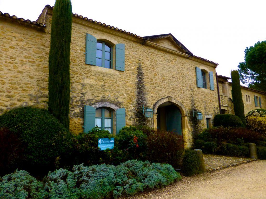 Domaine de la Citadelle, Luberon, Provence, in the rain in winter