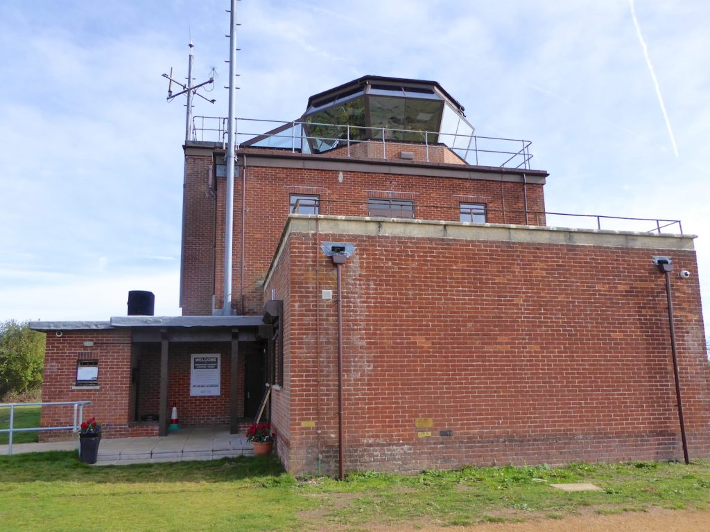The Greenham Common Control Tower, Newbury, Berkshire, England