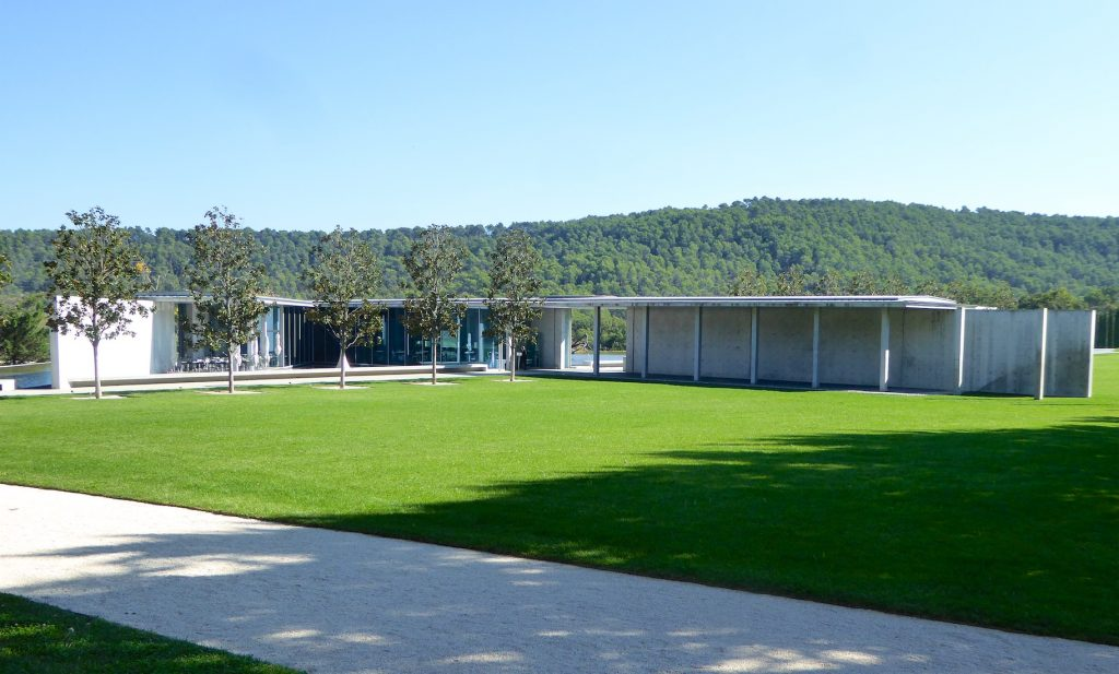 The Tadao Ando Art Center at Chateau La Coste, Le Puy-Sainte-Réparade, Bouches-du-Rhône, Provence, France