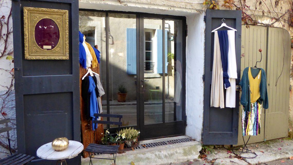 Exterior of KOT Interior Shop Lourmarin, Luberon. Vaucluse, Provence, France