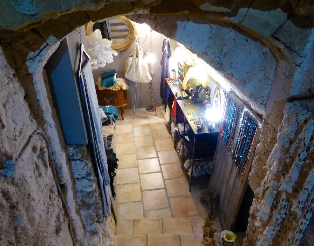 Inside KOT Interior Shop Lourmarin, Luberon, Vaucluse, Provence, France
