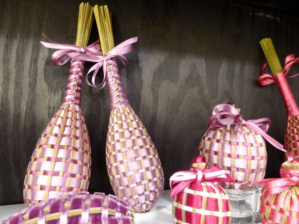 Lavender wands and Lavender boules at La Maison FRANC