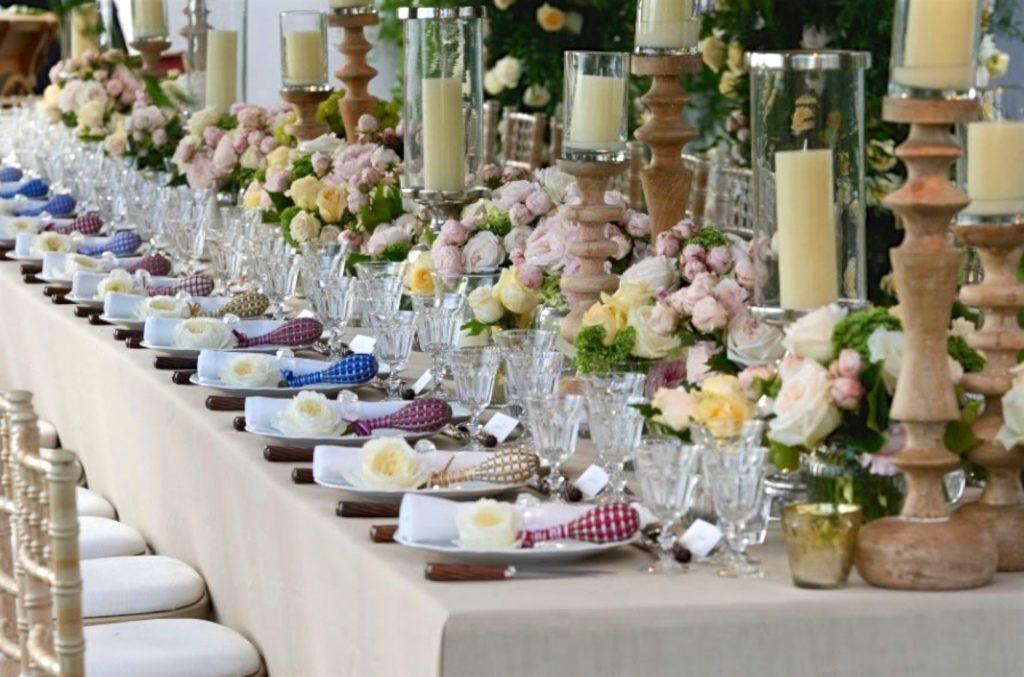 Lavender wands from La Maison France, Lourmarin at a Wedding celebration