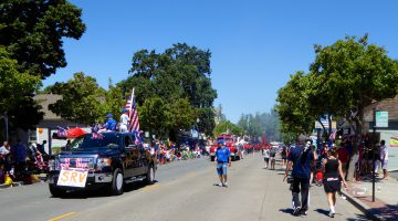 Danville, California on the 4th of July Parade