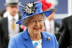 Queen Elizabeth II on her Diamond Jubilee 2012