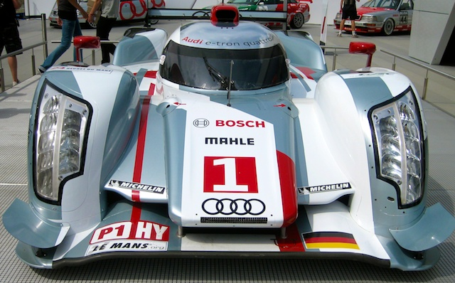 Audi car which won 2012 Le Mans 24 hour race
