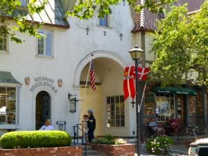 Solvang street, Solvang, California