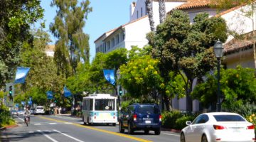 State Street Santa Barbara, California, USA