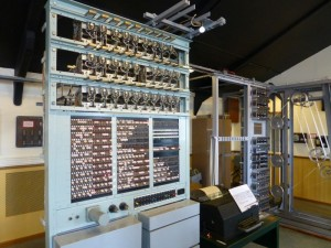 Colossus at Bletchley Park, the world's first ever computer