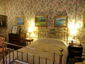Room at Blenheim Palace where Winston Churchill was born