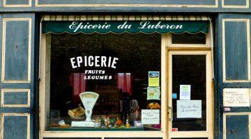 Epicerie du Luberon, Menerbes, Luberon, Provence, France