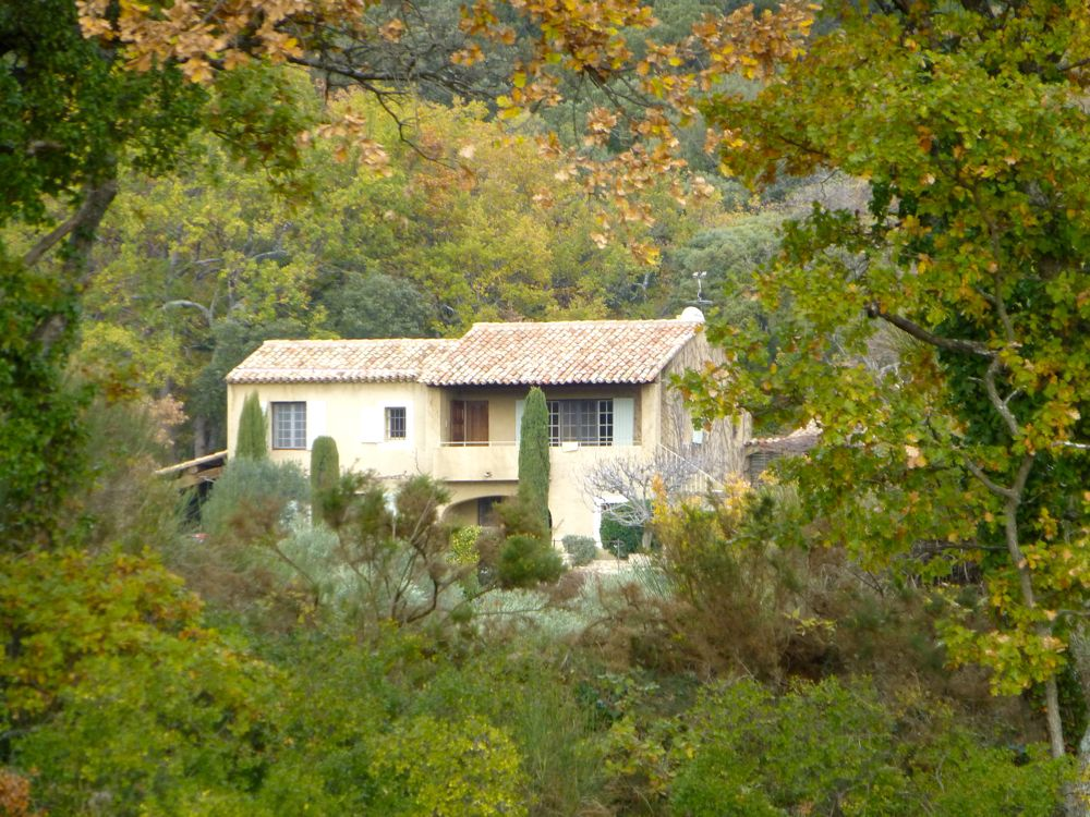 Mas in Provence near Lourmarin, in the Luberon Valley