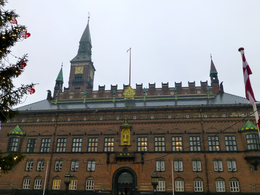Parliament buildings in Copenhagen, Denmark