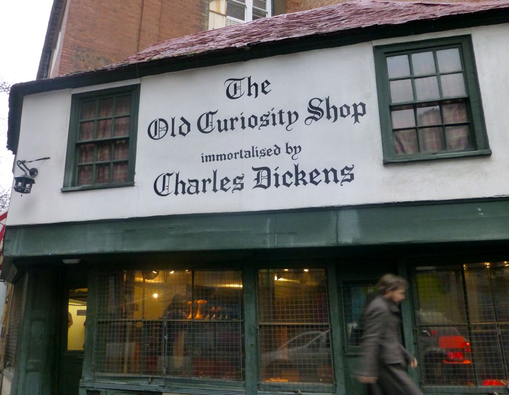 Charles Dicken's Old Curiosity Shop, London England