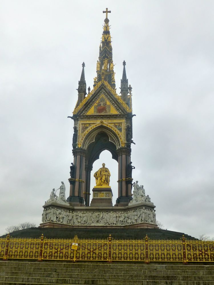 Prince Albert Memorial, Hyde Park, London, England